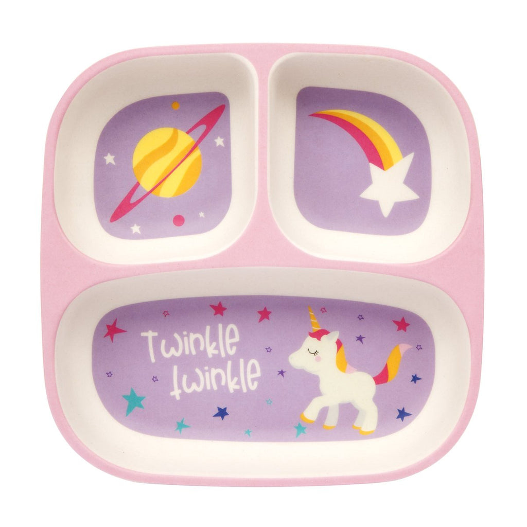 Sunnylife | Eco Kids Plate - Stardust | Shut the Front Door