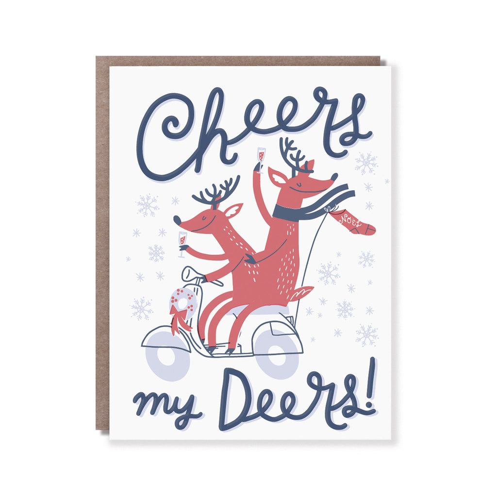 Hello Lucky | Hello Lucky Card - Cheers My Deers | Shut the Front Door