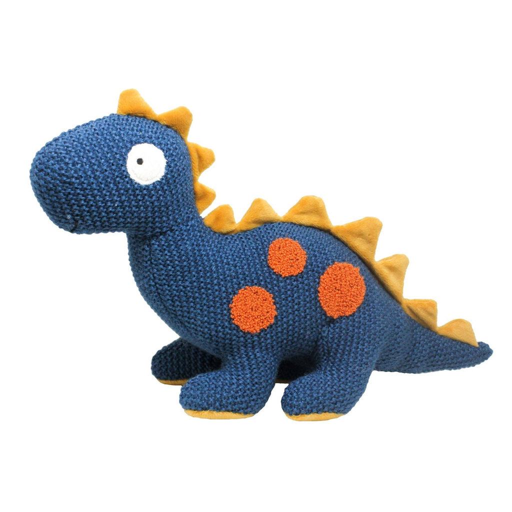 Lily and George | Stanley Spike Back Knit Dinosaur | Shut the Front Door