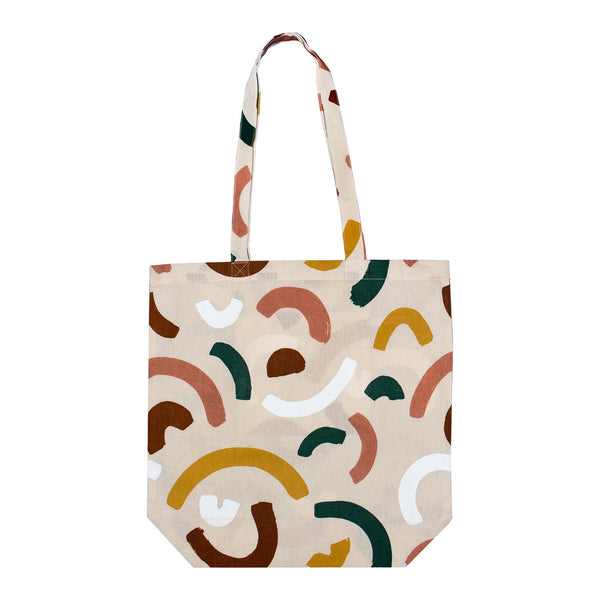 Cotton Shopping Bag - Rainbows