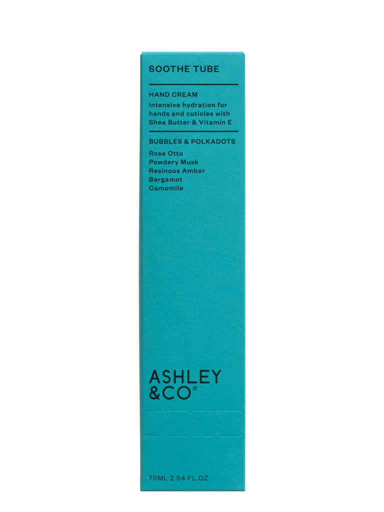 Ashley & Co | Soothe Tube Intensive Hydration - Bubbles & Polkadots | Shut the Front Door