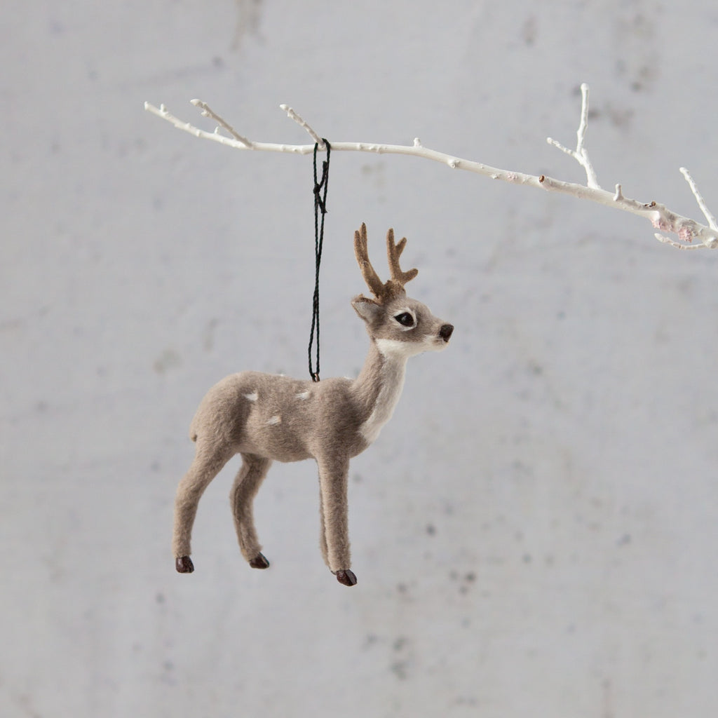 Down to the Woods | Reindeer Decoration Grey | Shut the Front Door