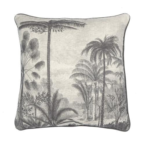 Amalfi | Lantro Cushion - Black & White | Shut the Front Door