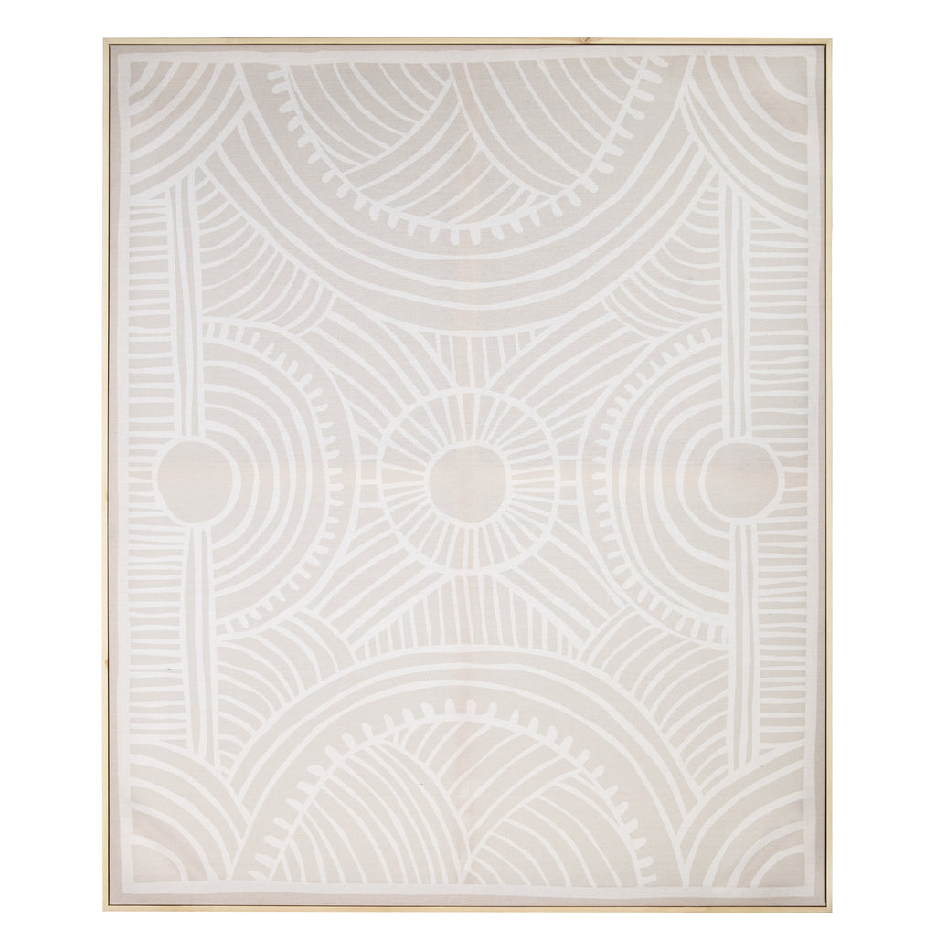 Amalfi | Framed Canvas Marula Print | Shut the Front Door
