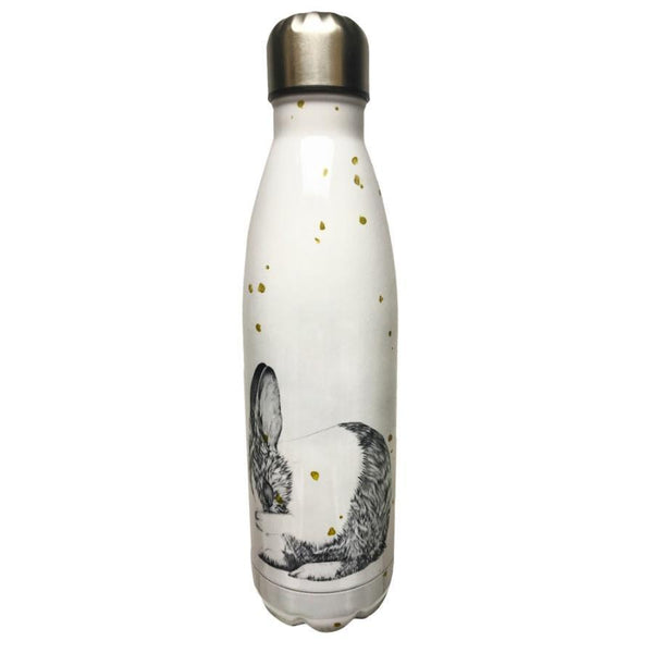 Chunky | Stainless Steel Drink Bottle - Laura Shallcrass Bunny | Shut the Front Door
