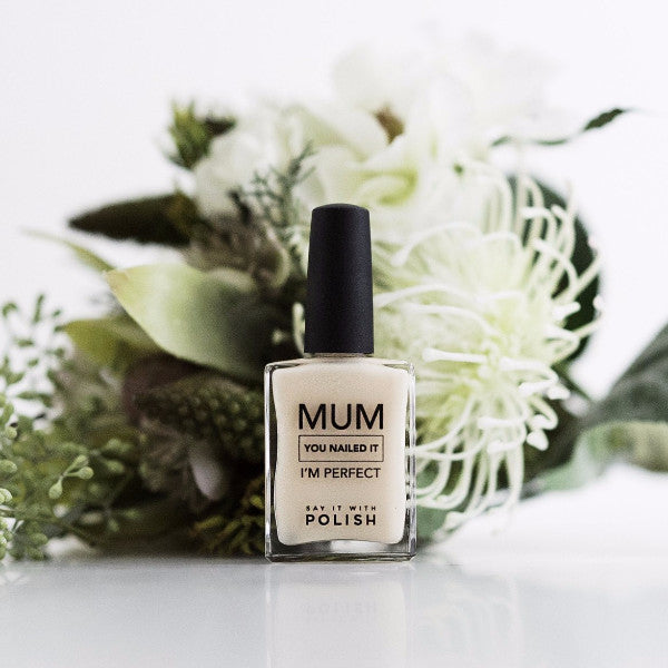Say It With Polish | Mum You Nailed It Nail Polish - Light Camel | Shut the Front Door