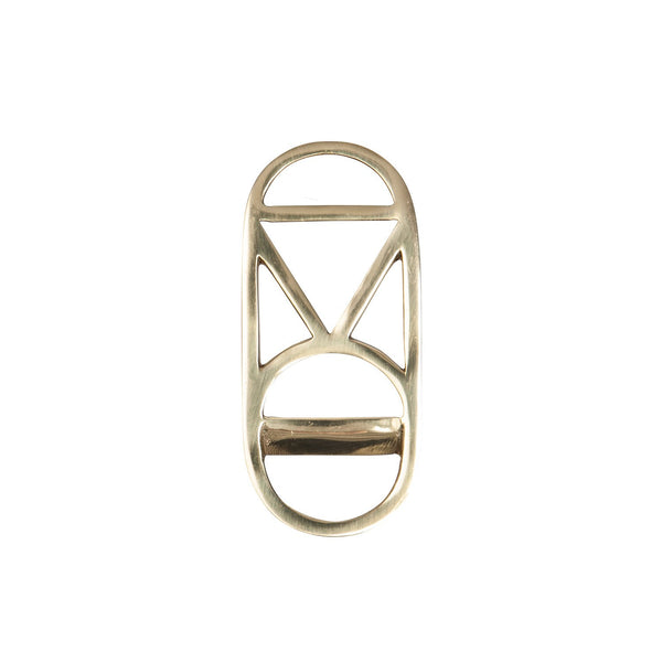 Rose Avenue | Brass Deco Bottle Opener | Shut the Front Door