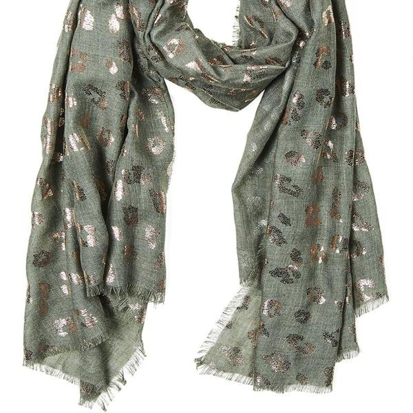 eb & ive | Tempus Scarf Moss | Shut the Front Door