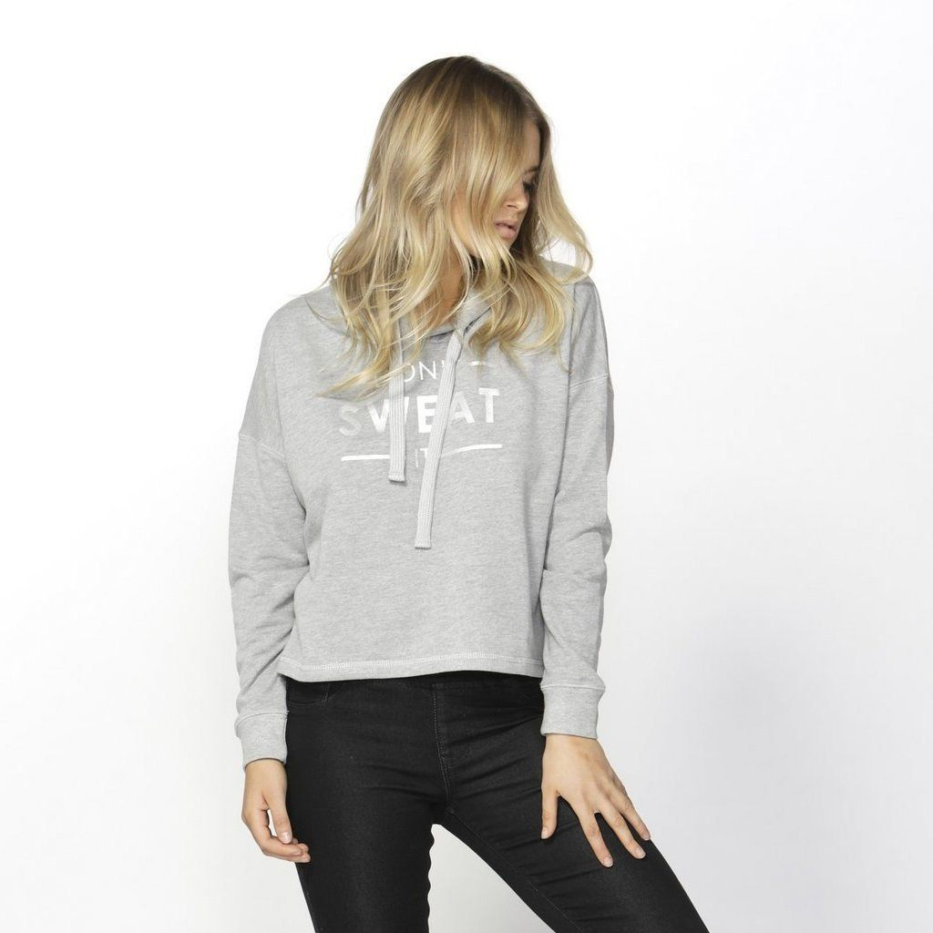 Betty Basics | Oscar Hoodie - Silver Grey | Shut the Front Door