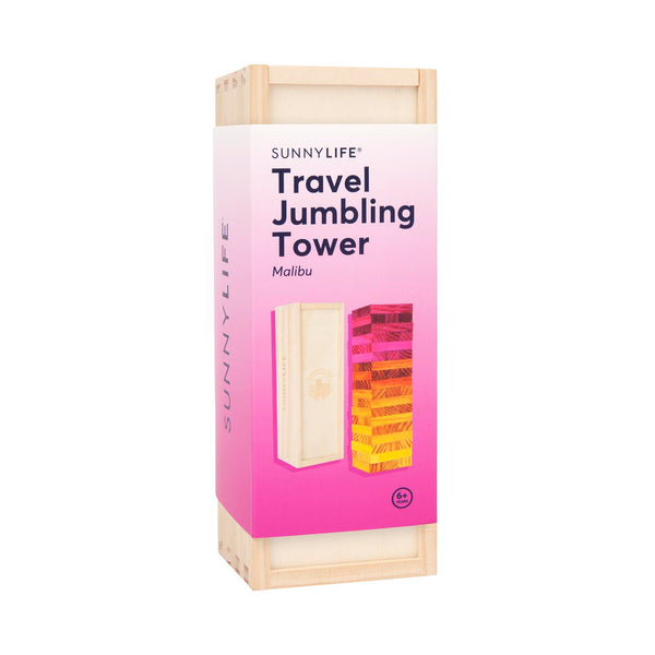 Sunnylife | Travel Jumbling Tower - Malibu | Shut the Front Door