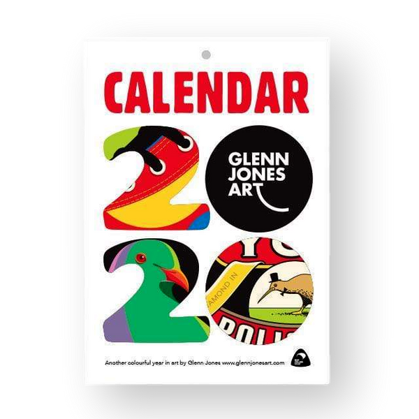 Glenn Jones Art Calendar