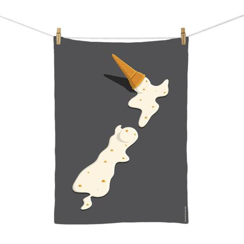 100% NZ | Two Scoops Tea Towel Glenn Jones | Shut the Front Door