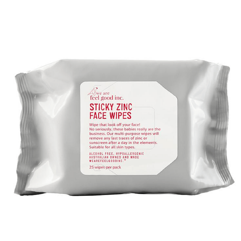 We Are Feel Good Inc | Sticky Zinc Face Wipes | Shut the Front Door