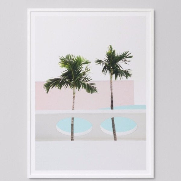 Middle of Nowhere | Framed Print Tropical Pair | Shut the Front Door