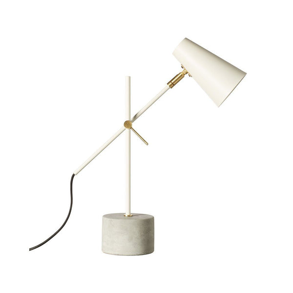 Milk & Sugar | Kenny Table Lamp WHITE | Shut the Front Door