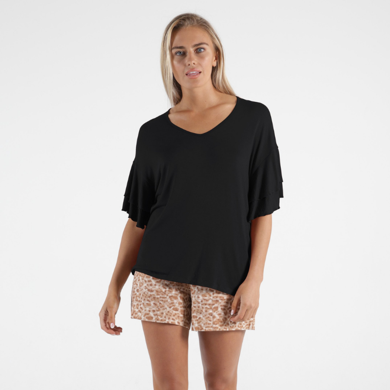 Betty Basics | Ripon Top - Black | Shut the Front Door