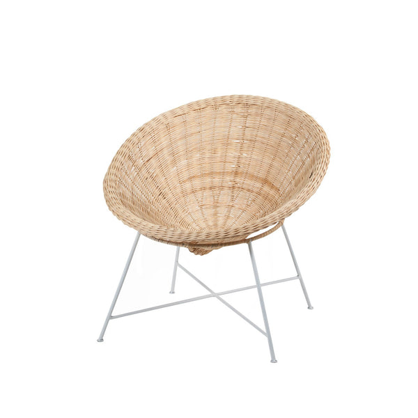 Rose Avenue | Rattan Kids Coolie Chair | Shut the Front Door