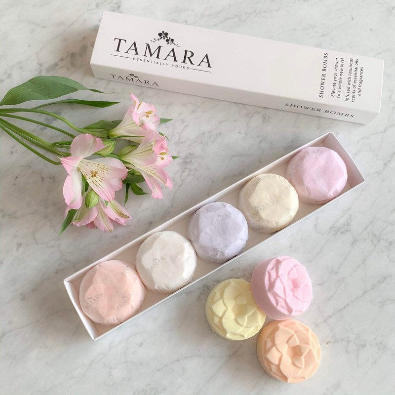Tamara | Shower Bombs Botanical Collection - Box of 5 | Shut the Front Door