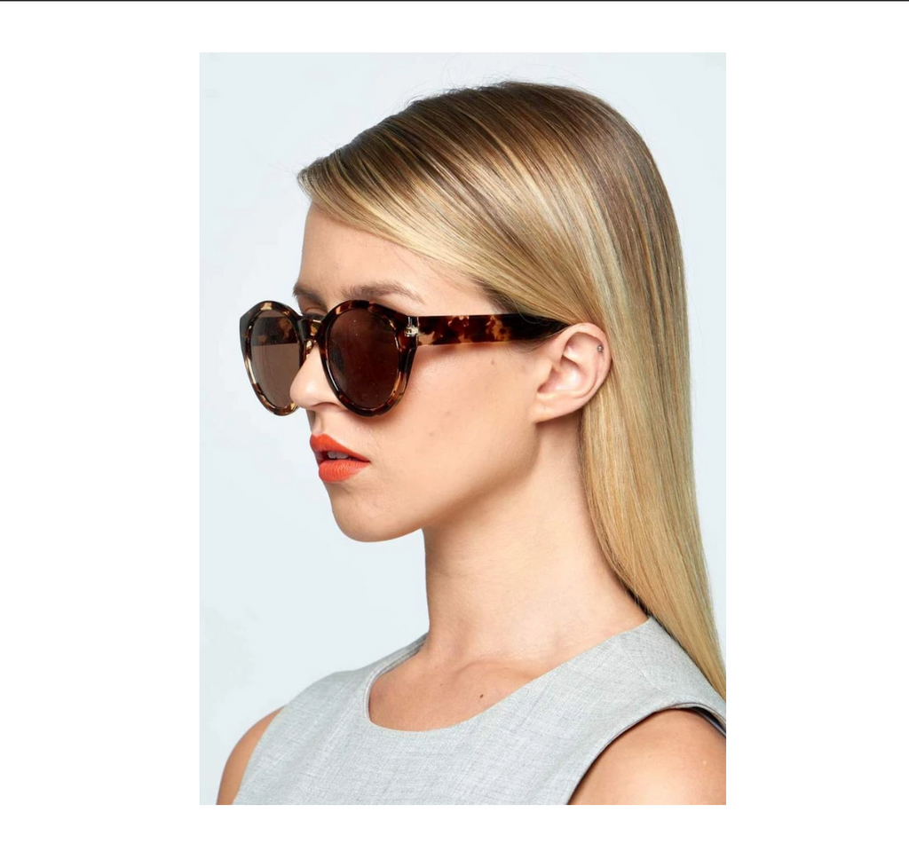 Reality Eyewear | Larchmont Sunglasses - Turtle | Shut the Front Door