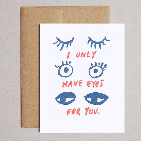 Egg Press | Eyes for You Card | Shut the Front Door