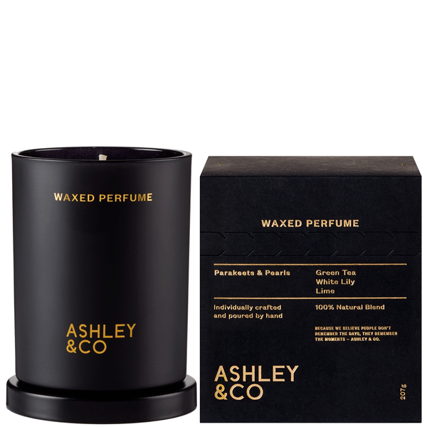 Ashley & Co | Waxed Perfume Ashley & Co Parakeets & Pearls | Shut the Front Door