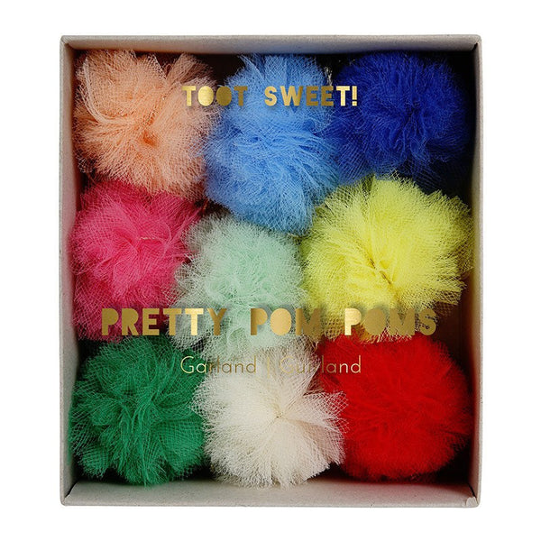 Meri Meri | Mini Garland Pom Poms | Shut the Front Door