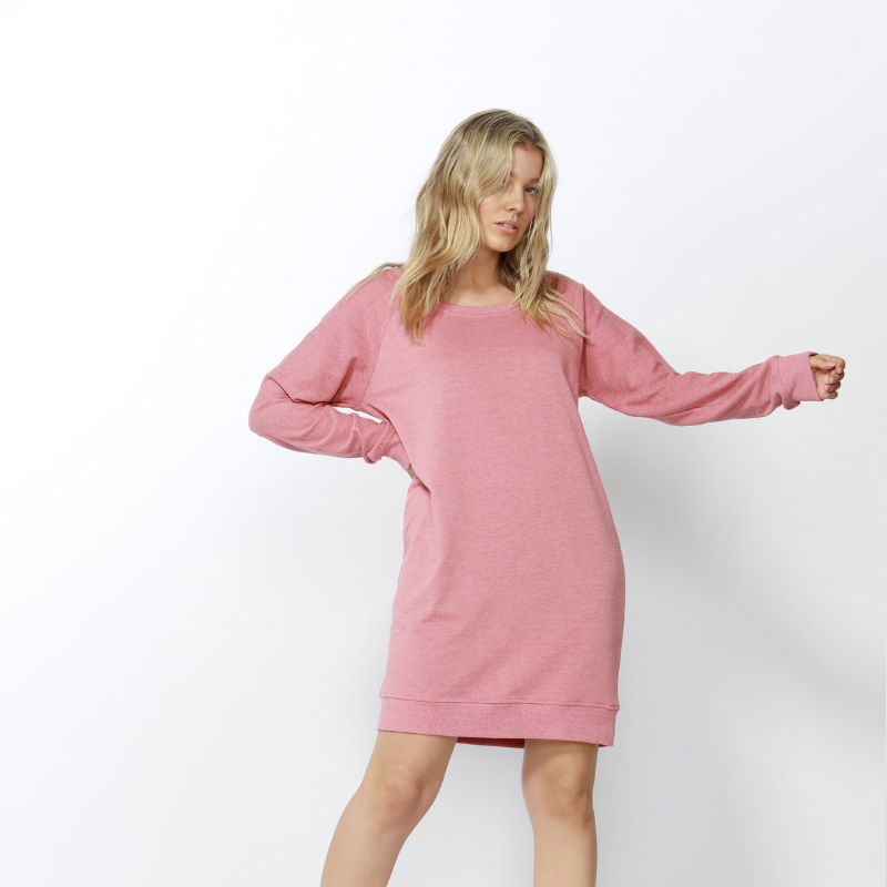 Betty Basics | Nico Sweater Dress ROSE | Shut the Front Door