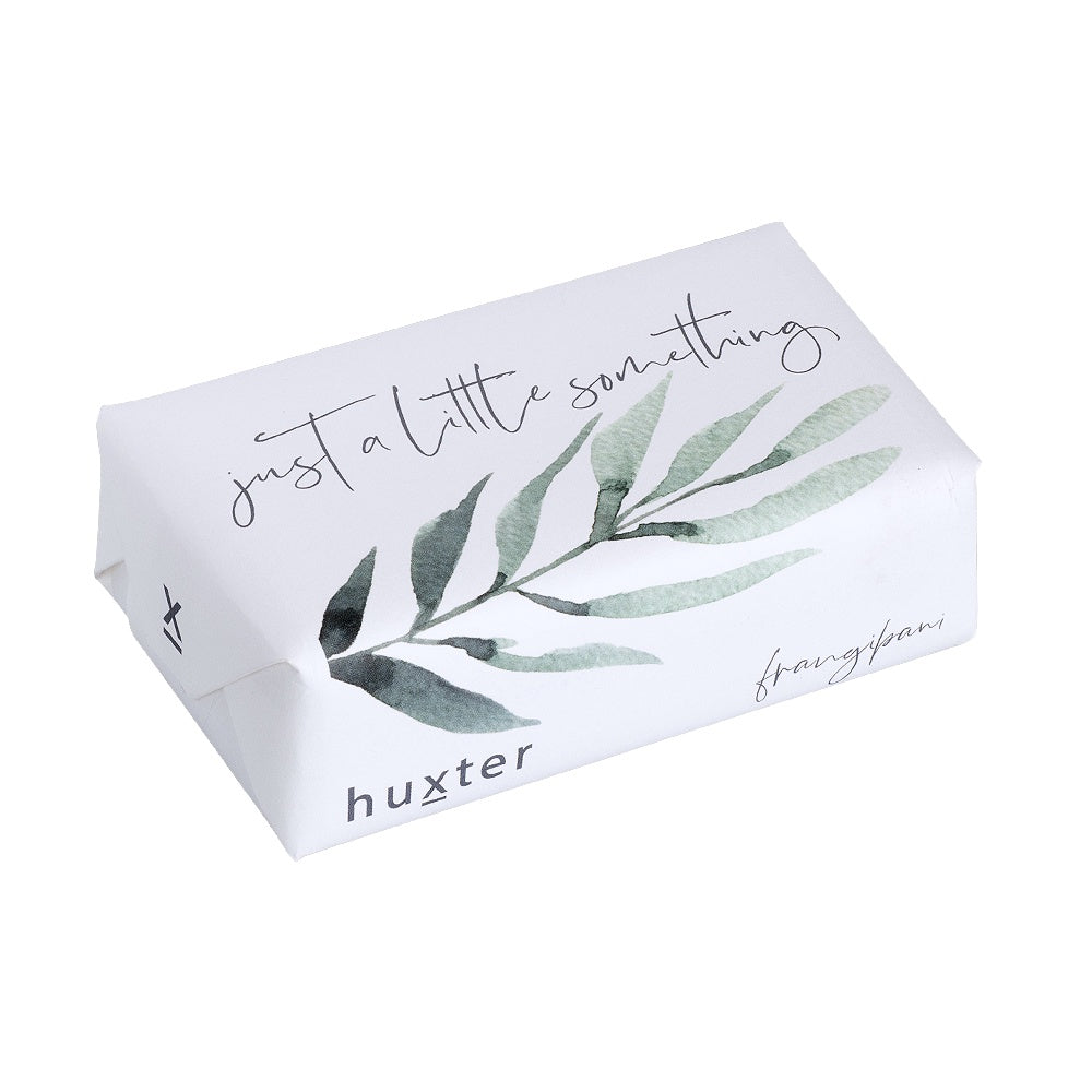 Huxter | A Little Something Soap - Green Leaves - Frangipani | Shut the Front Door