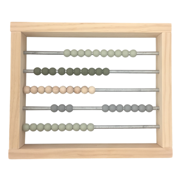 Grove and Willow | Wooden Abacus - Large | Shut the Front Door