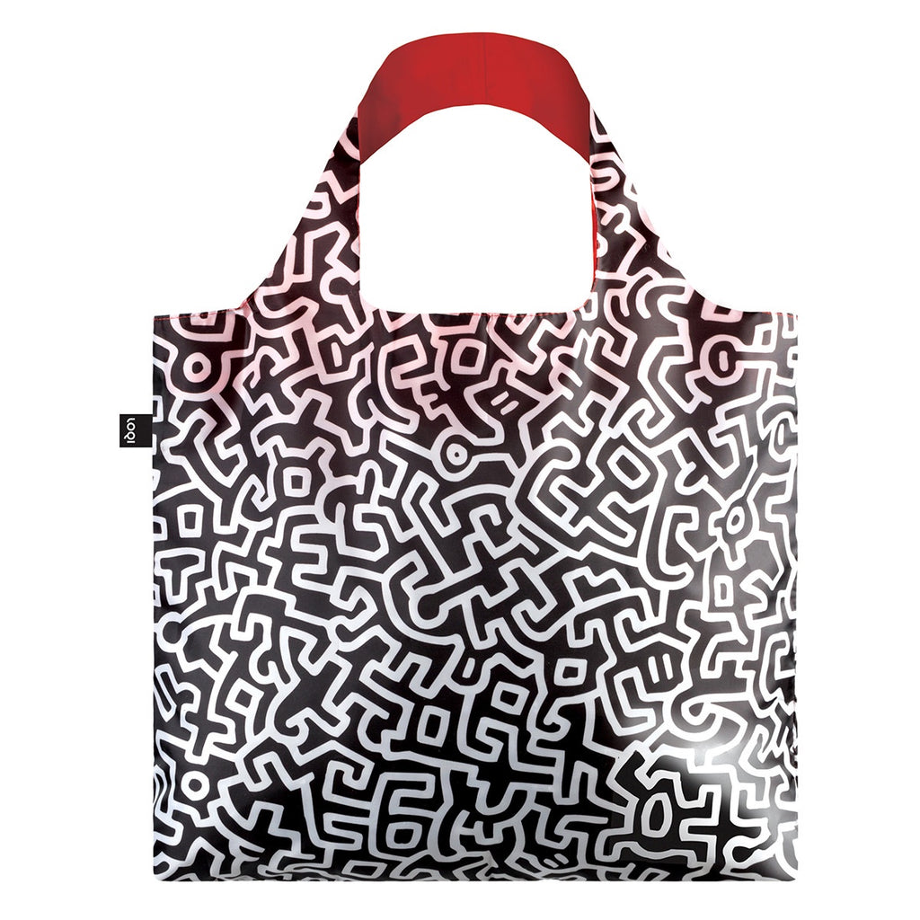 Loqi | Loqi Shopping Bag Museum Collection - Keith Haring | Shut the Front Door