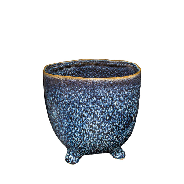 General Eclectic | Mio Footed Planter - Midnight | Shut the Front Door