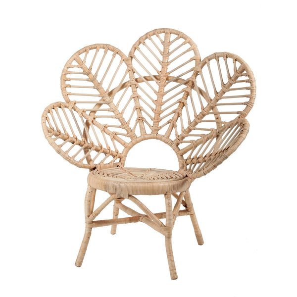 Rose Avenue | Rattan Leaf Chair - NATURAL Large | Shut the Front Door
