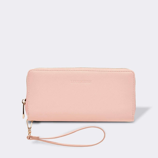 Louenhide | Jessica Hatch Wallet Pale Pink | Shut the Front Door