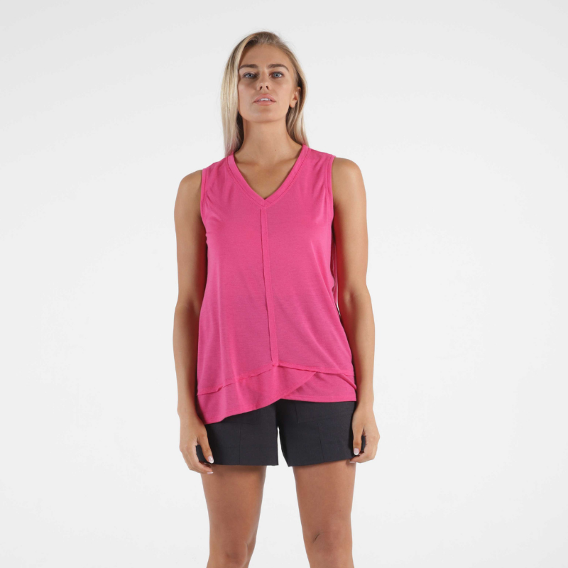 Betty Basics | Halle Tank - Fuchsia | Shut the Front Door
