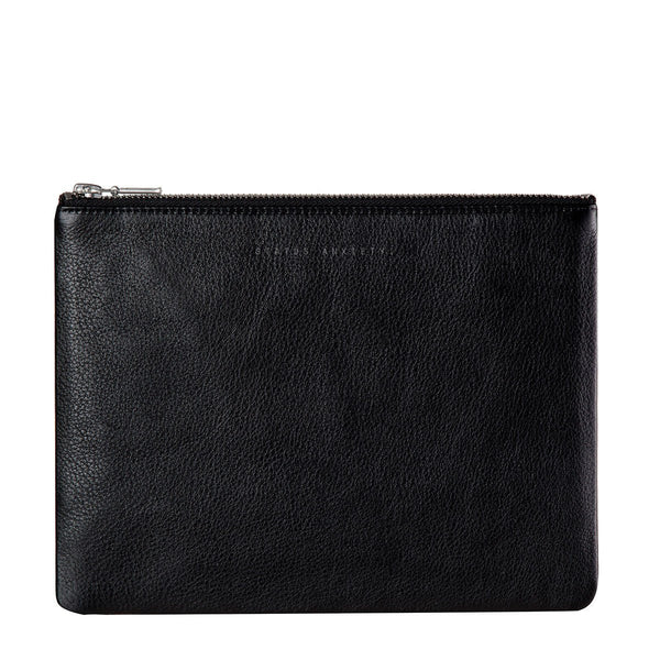 Status Anxiety | Anti-Heroine Clutch BLACK | Shut the Front Door