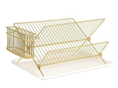 PT home | Dish Rack Gold Plated | Shut the Front Door