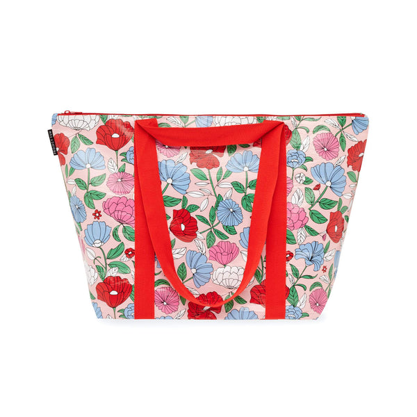 Project Ten | Zip Medium Tote - Flowers | Shut the Front Door