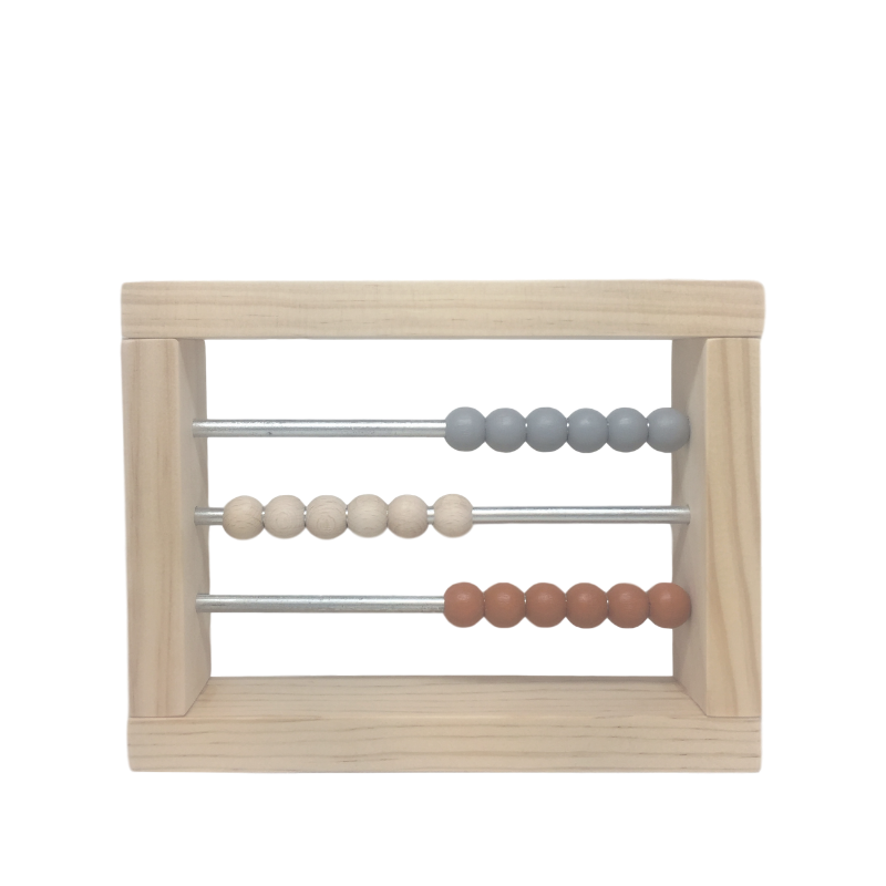 Grove and Willow | Wooden Abacus - Small | Shut the Front Door