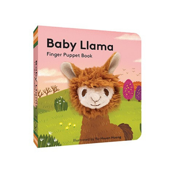 Chronicle Books | Baby Llama: Finger Puppet Book | Shut the Front Door