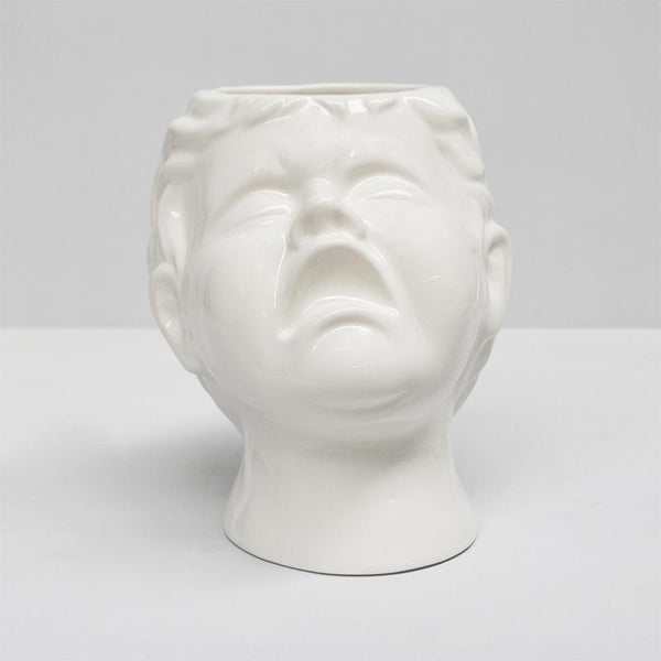 White Moose | Crying Baby Head Vase | Shut the Front Door