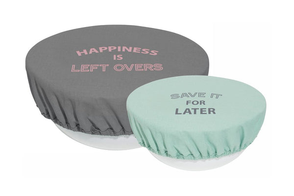 Retro Kitchen | Bowl Cover Set 2 - Pastels | Shut the Front Door