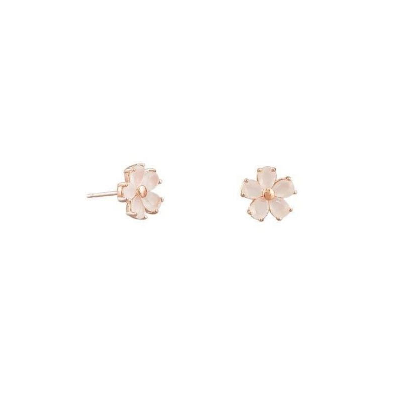 Tiger Tree | Earrings Blossom Studs Powder Pink | Shut the Front Door