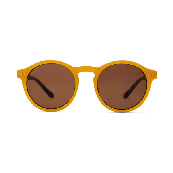 Reality Eyewear | Hudson Sunglasses - Mustard | Shut the Front Door