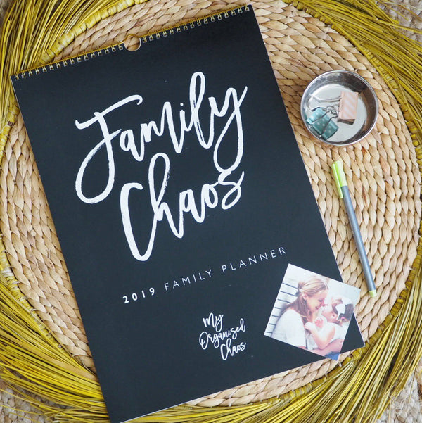 Write to Me Stationery | Family Chaos 2019 Family Planner *PREORDER* | Shut the Front Door