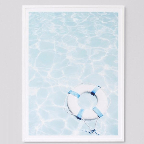 Framed Print Lifesaver