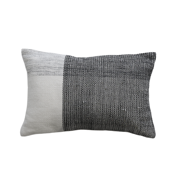 Mulberi | Finn Outdoor Cushion - Ivory & Black | Shut the Front Door