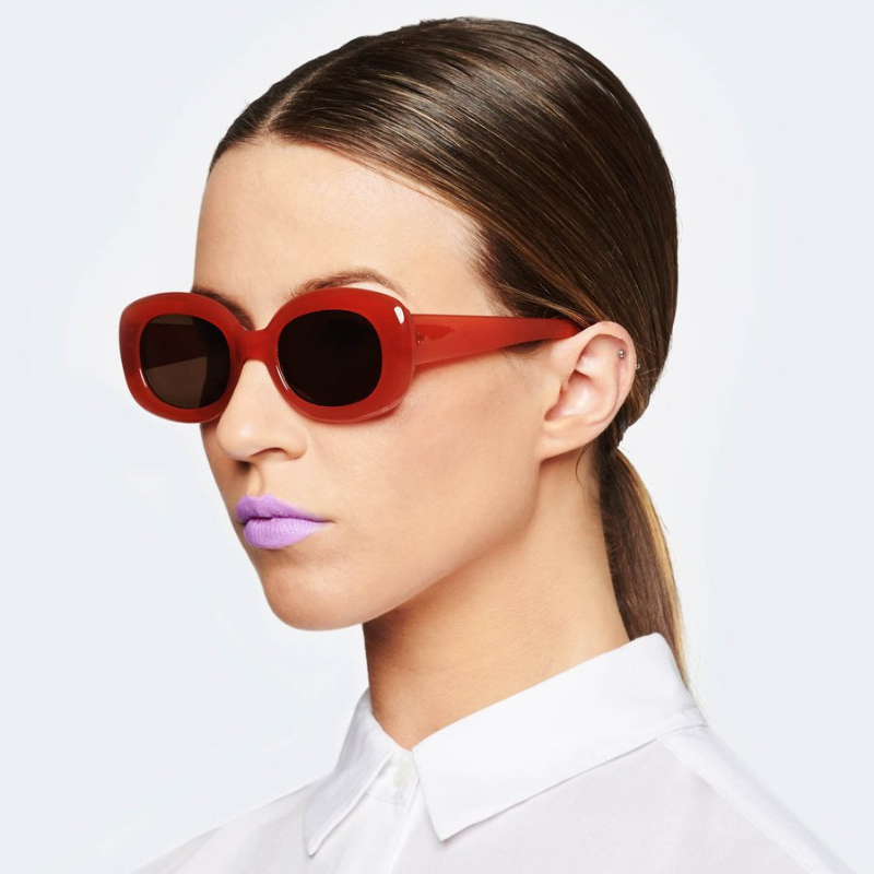 Reality Eyewear | Lady Grandzigger Sunglasses - Ochre | Shut the Front Door