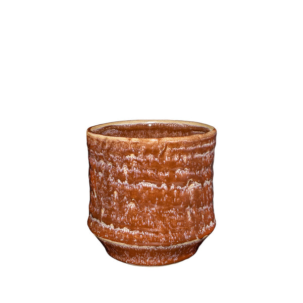 General Eclectic | Small Hoshi Planter - Chestnut | Shut the Front Door