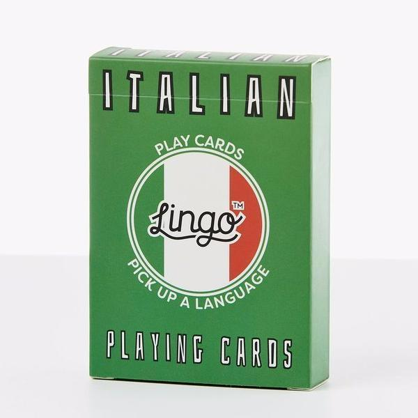 Lingo | Lingo Playing Cards - Italian | Shut the Front Door