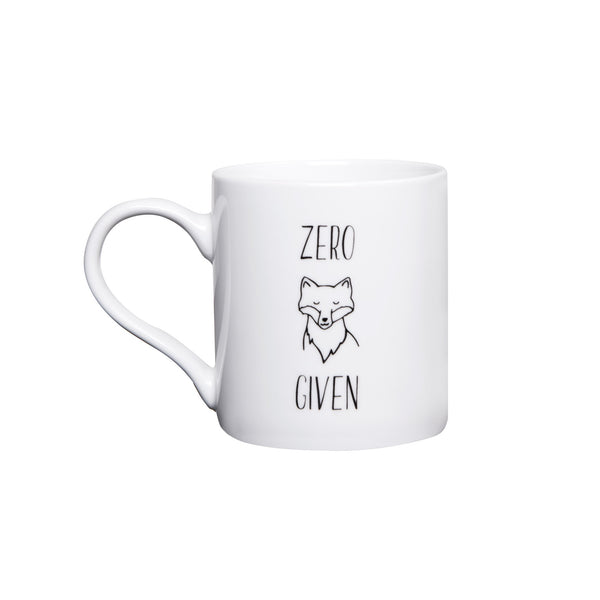 General Eclectic | Zero Fox Given Mug | Shut the Front Door